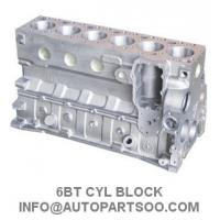 China Cummins 6BT Engine Cylinder Block Quality Guaranteed Engine Spare Parts on sale