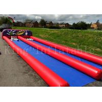 China Customized Ourdoor Inflatable Sports Games , Airtight PVC Human Bowling Ball on sale