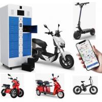 Buy cheap 36V 48V 60V 72V Lithium Battery Swapping Cabinet For Electric Scooter Electric 2 Wheeler product