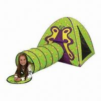 Buy cheap Giga Tent Hide and Seek Wilber Play Tunnel with T Style Door Opening for Easy Access product