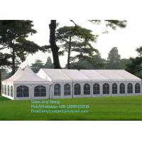 Buy cheap High Peak Outdoor Wedding Marquee , Cumtomized Multi-side Tent With Colorful PVC Roof Cover from Wholesalers
