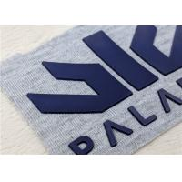 Buy cheap Heat Transfer Silicone Label , Embossed Logo PVC Rubber Patch For Garments product