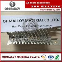 Buy cheap FeCrAl Alloy OHMALLOY Mica Electric Hair Dryer Heating Element Resistance product