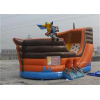 Buy cheap Custom Waterproof Kids Inflatable Pirate Ship Bounce House For Rental product