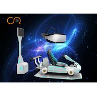 Professional VR Racing Simulator , 9D Vr Car Racing Game Machine For Adults