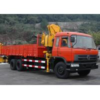 Buy cheap 10 ton Knuckle Boom Truck Crane from Wholesalers