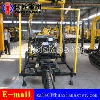 Buy cheap XYX-3 Wheeled Water Well Drilling Rig Hydraulic Rotary Diamond Core Machine For Sale product