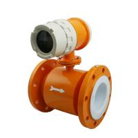 Buy cheap High quality Compact Type Electromagnetic Flow Meter to highest 15m/s flow rate product