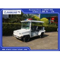 Buy cheap 4 Seater Electric Golf Cart Patrol Car For Security Cruise Car With Caution Light product