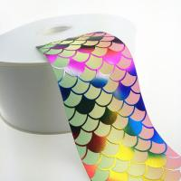 Buy cheap 3 Inch Sparkle Fish Scale Glitter Sparkle Grosgrain Ombre Base Colors ribbon product