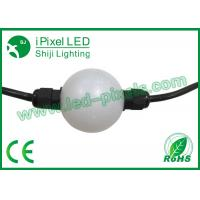Buy cheap Addressable DMX Pixel RGB Led Curtain Light Ball For Exhibition product