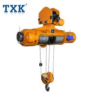 Buy cheap Cargo Lifting CD MD Electric Wire Rope Hoist With Electric Trolley 380V 50HZ 3-P Construction Usage product