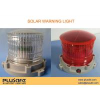 Buy cheap Marine Aids Solar Powered Warning Light 200 Hours Flashing for Dock Lighting product