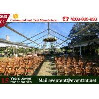 Buy cheap CLEAR SPAN TENT Best Quality Luxury Outdoor Wedding Tent All Sizes on Sale from Wholesalers
