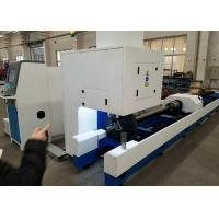 Buy cheap Customized Color Metal Tube Cutting Machine , 1000W 500W Tube CNC Pipe Cutter product