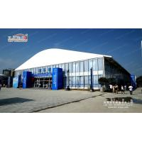 Buy cheap 40m Span Width 100m Length Large Arcum Top Outdoor Trade Show Tents from wholesalers