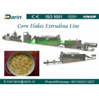 Buy cheap Breakfast Cereal and Corn Flakes Production line / puff snack Extruder machine product