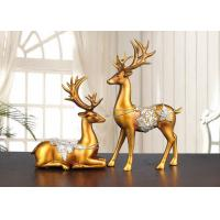 Buy cheap Christmas Reindeer Resin Arts And Crafts Home / Hotel Decoration Use product
