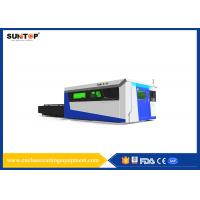Quality Sheet Metal Fiber Optic Laser Cutting System With Laser Power 1500W for sale
