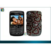 Buy cheap Fashionable Customized Diamond Bling Plastic Hard Cover For Blackberry Curve 8520 product
