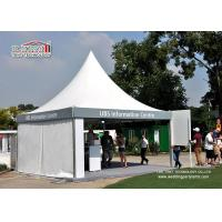 Buy cheap Commercial Advertising White Color Gazebo Tent Flexible Movable Fixing For Trade Show from Wholesalers