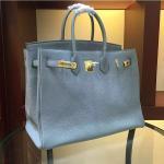 Buy cheap high quality 35cm light blue women brand name handbags TOGO leather bags designer handbags L-RB2-5 product