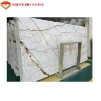 Buy cheap 2018 Sofitel Gold Marble Slabs & Tiles Turkey Beige Marble Rich Gold Marble product