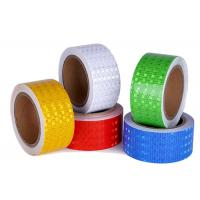 Buy cheap Adhesive Reflective Tape Honeycomb Reflective Marks Tape For Warning product