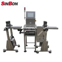 Buy cheap automatic Aerosol Inhaler Check weigher electronic belt scale conveyor product