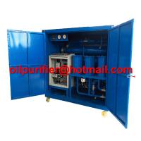Buy cheap Double stage high vacuum used mineral oil treatment ,super voltage transformer oil purifier, vacuum pumping set ultimate product
