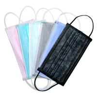 Buy cheap Elastic Ear Loop 3 Ply Disposable Face Mask Fashionable No Irritation product