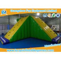 Buy cheap Amusement Floating Inflatable Water Park Game Inflatable Water Slide Equipments product