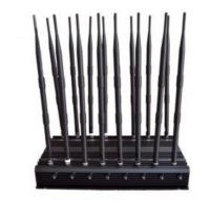Building cell phone jammer - 300W High Power VHF UHF NMT CDMA Single Jammer (Waterproof & shockproof design)