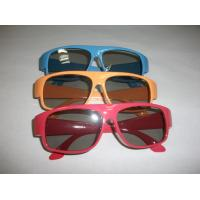 Buy cheap Red Blue Plastic Circular Polarized 3D Glasses ROHS, EN71 product
