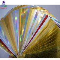 Buy cheap Glossy gold foil paper 275g / 325g / 375g metallic silver paper board product