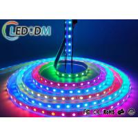 Buy cheap 5V RGB Addressable LED Strip Lights , WS2812B Programmable LED Light Strips product