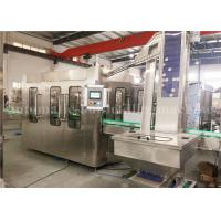 Buy cheap Aluminum Cap Beverage Juice Filling And Sealing Machine 4.23KW For 330ml Glass Bottle product