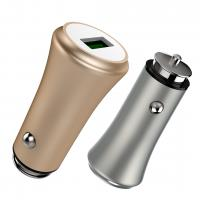 Buy cheap 3.6A 18W FAST USB CAR CHARGER with Monitoring Aluminum Alloy Multi colors for OPPO and smart phones product