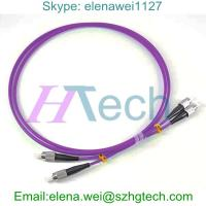 Buy cheap 1/2/3/5/7/8/9/10Meter FC/FC Duplex OM4 Optic Fiber Patch Cord LSZH Jacket product