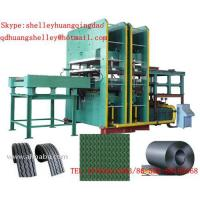 Buy cheap interlocking rubber floor mat vulcanizing press product
