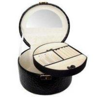 Leather Cosmetic Boxes,Leather Comestic Case
