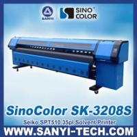 Buy cheap SPT510 Large Format Printing Machine, Sinocolor SK3208S,3.2m, 720dpi product