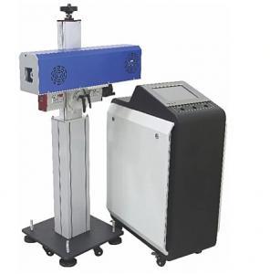 China Non Metal Engraving UV Marking System 30W 50W 100W Co2 Flying Online Conveyor Belt Laser Marking Machine on sale