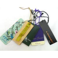 Buy cheap Custom Fashion Design Special Shape Paper Hangtag For Garment product