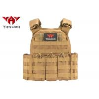 Buy cheap Molle Safety Lightweight Tactical Gear Vest / Military Combat Training Bullet Proof Vest product
