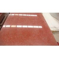 Buy cheap Red Color Rough Granite Kitchen Countertop Floor Tiles 50x50 Slab 2.73 g/cm3 product