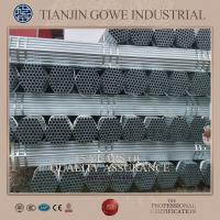 Buy cheap Industrial scaffolding hot dip galvanized pipe Micro Coating from Wholesalers