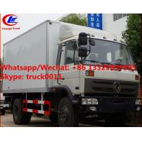 Buy cheap High quality and competitive price dongfeng 10tons 170hp diesel cold room truck for sale, refrigerator van truck product