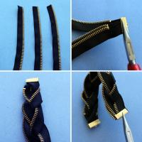 Buy cheap #3 metal decorative zippers product