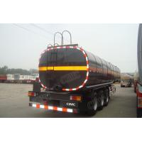 Buy cheap CIMC trailer fuel tank semi trailers in good quality with air suspension product